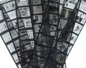 Microfilm of Tiny Newspapers - Collage, Mixed Media, Jewellery, Altered Art, etc.