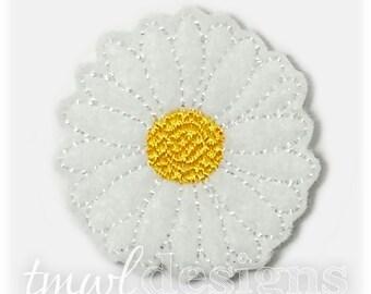 "Daisy Flower Feltie Digital Design File - 1.75"""