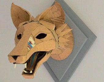 Items Similar To Decorative Cardboard Mounted Horse Head