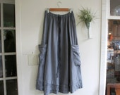 Linen Clothes / 'Urban Prairie Skirt' / by Breathe Clothing