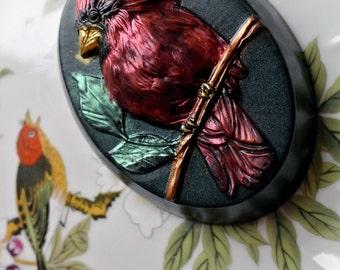 Cardinal Soap Oval