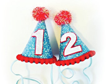 Thing One Thing Two Hats Dr. Seuss First Birthday 1st Birthday Twins