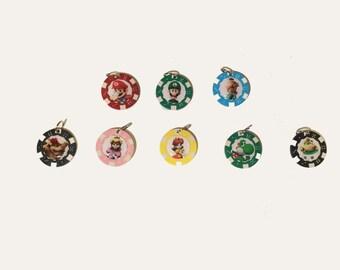 Super Mario Poker Chip