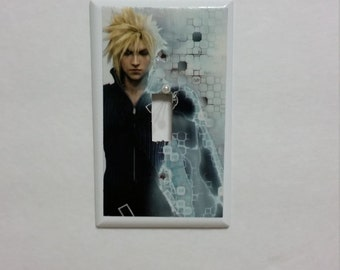 Final Fantasy VII Cloud Light Switch Cover