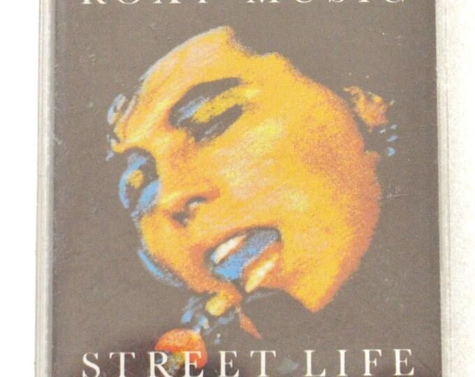 Vintage 80s Bryan Ferry Roxy Music Street Life 20 Great Hits Album Cassette Tape