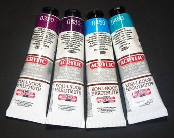 Eraser Magic Koh-i-noor marbled multi colored rubber