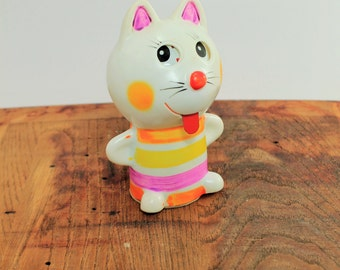 Vintage Wind-up Cat,