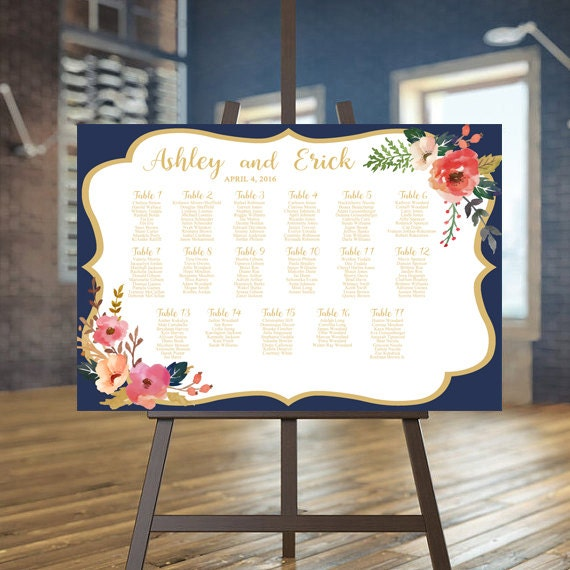 Like This Item?  Guest Seating Chart Template