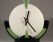 Echo of Deco Art Deco Inspired Scientist Mantel Clock