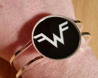 Weezer Bracelet Hinged Bangle Customized Personalized Gifts Stocking Stuffer Gift