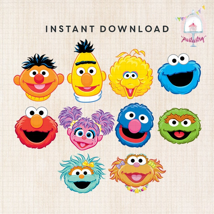 Invaluable image regarding printable pictures of sesame street characters