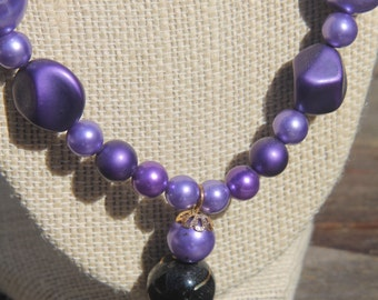 Purple People Eater Necklace
