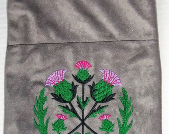 Scottish Thistle bag purse