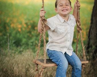 Swing Photo Prop - Rustic country - photo prop - children - Wedding Photo prop