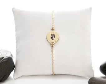 Hamsa Bracelet, Hamsa Jewelry, Hamsa Hand, Hamsa, Hand of Fatima, Yoga Bracelet, Hamsa Hand Jewelry, Protection Bracelet, B246MBR