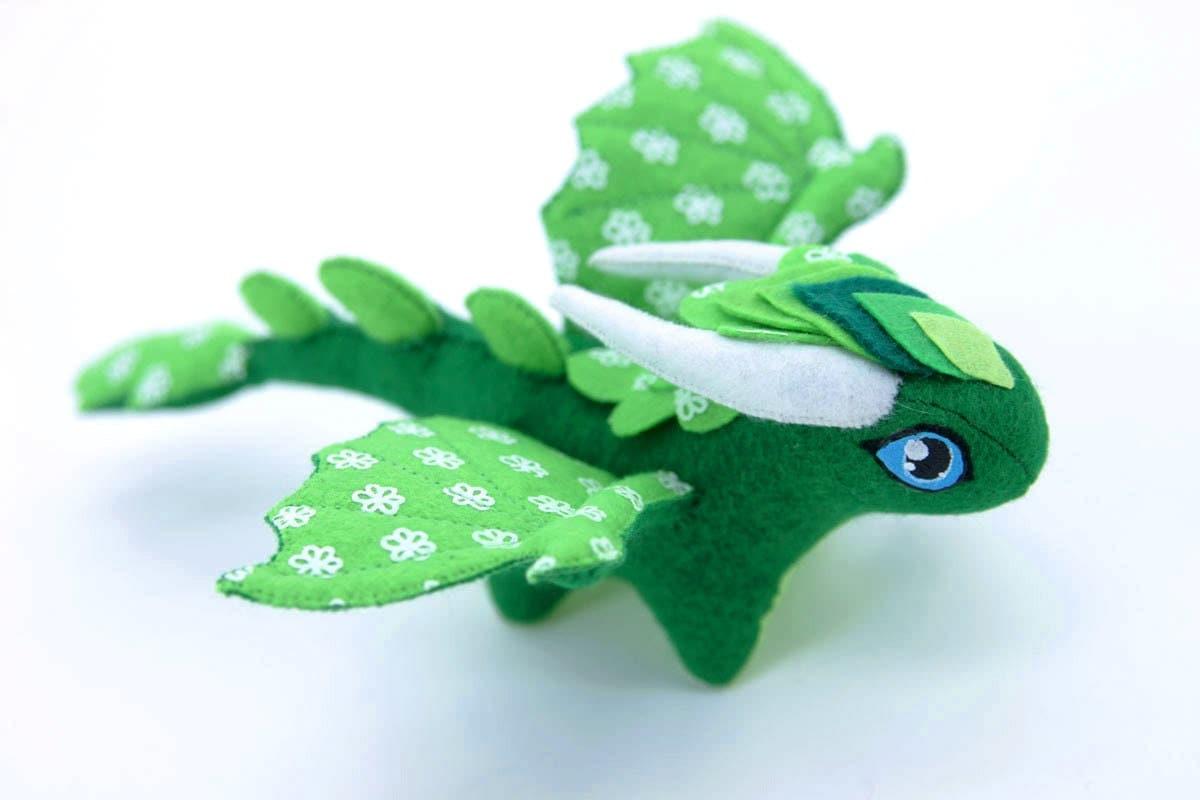 Soft toy dragon fantasy plush animal textile toys Soft