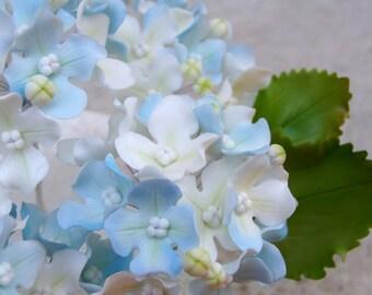 Gumpaste Hydrangea