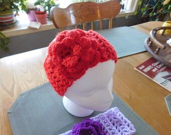 Crochet Head band, Ear warmer, fashion, Adult sizes,
