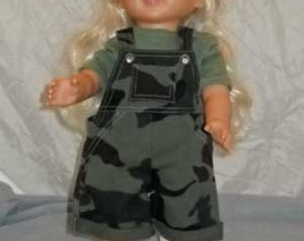 Army Play Outfit for Doll