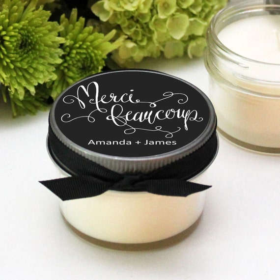 ... Wedding Favors Personalized Wedding Favors Soy Candle Favor Set