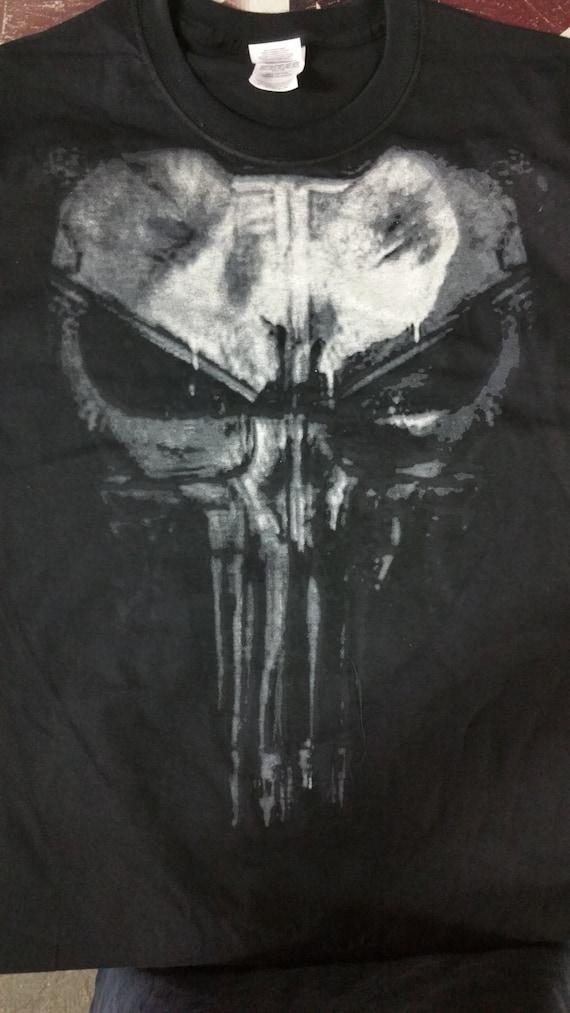 the punisher newskull daredevil  flix shirt t shirt