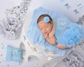 Blue Newborn Tutu Dress, Photography Props, Newborn Photography, Baby Tutu, Newborn Girl Dresses, Photo Prop, Cinderella Blue, Romper