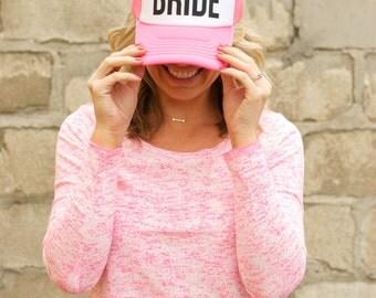 Bride Block hat