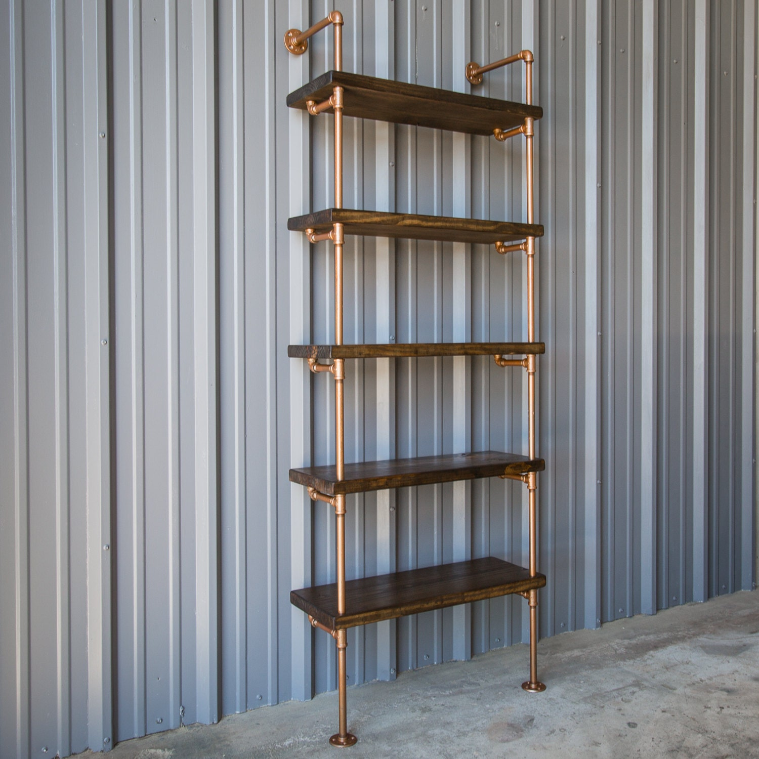 🔎zoom - Industrial Pipe Shelving Unit Pipe Shelf Pipe Bookcase