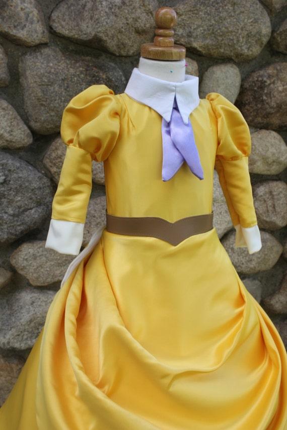 Jane Yellow Safari Dress (Size 1-5)