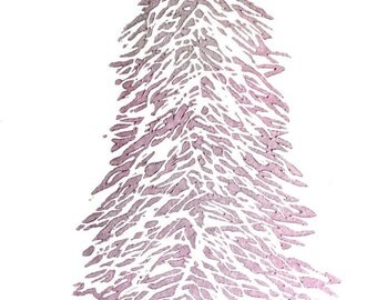Silver Pink Christmas Tree