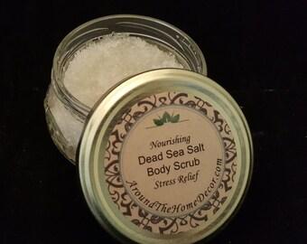 Dead Sea Salt Nourishing Body Scrub