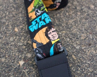 "Guitar Strap in ""Star Wars Original Trilogy"" Fabric"