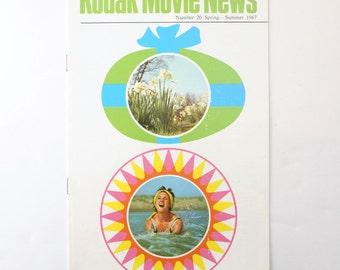 Vintage Kodak Movie News No. 20 Spring Summer 1967 Magazine Cine