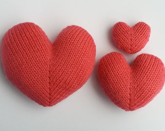 Love Hearts Knitting Pattern
