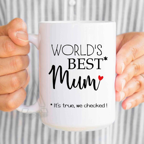 "Items Similar To Funny Mom Birthday Gift, ""World's Best"