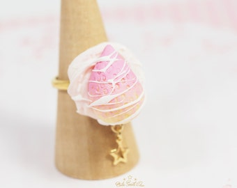 Pink Strawberry Ring