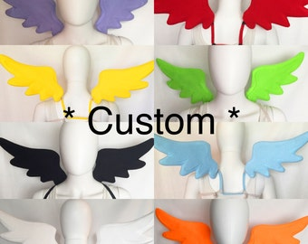 CUSTOM You Choose Color Angel Wings, Feather Wings, OC (Original Character), My Little Pony Wings, Cosplay Wings, Costume Wings
