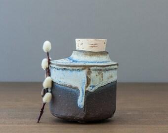 Small Ceramic Urn - Pet Urn -Cat Urn - Keepsake Urn