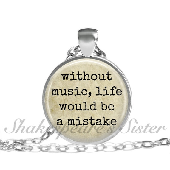 Without Music Life Would Be A Mistake By ShakespearesSisters