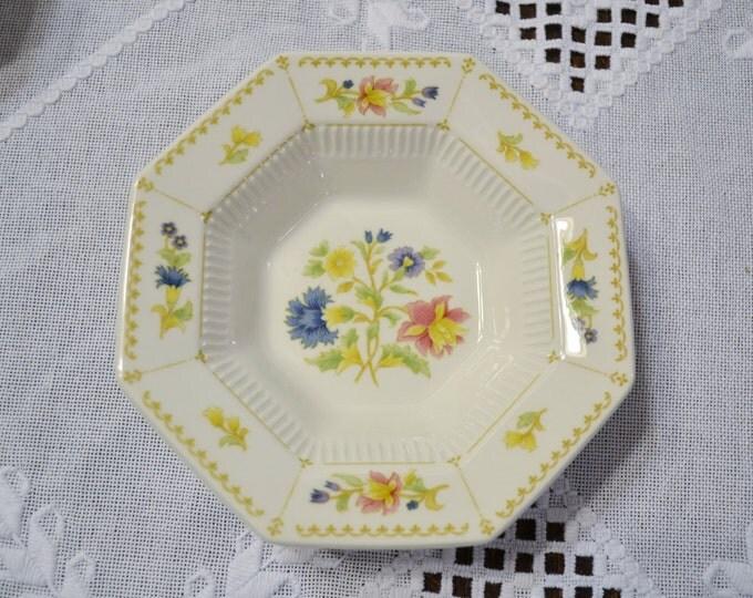Vintage Nikko Berry Fruit Bowl Floral Design Classic Collection Japan Panchosporch