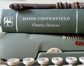 Retro David Copperfield Book, Green and Yellow