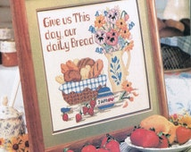 CCS - Give Us This Day Our Daily Bread Cross Stitch Chart - Christian Cross Stitch