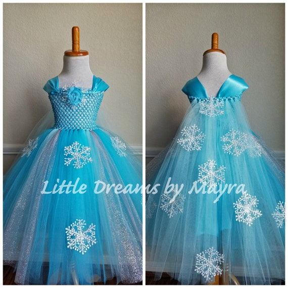 Affordable Elsa tutu dress inspired