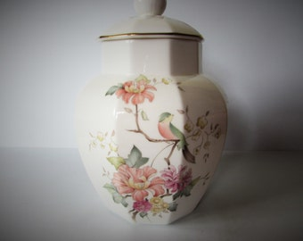 Stunning Large Royal Doulton 'Mystic Dawn' Lidded Urn / Canister 1985 - Made In England.