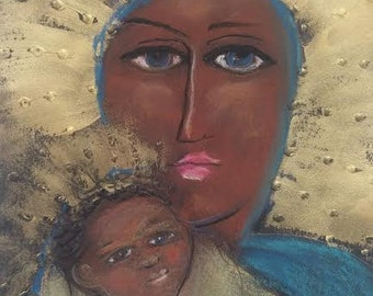 ICON Holy Mother & Child