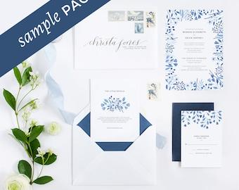 Helena Collection - Wedding Invitation (Sample Kit)