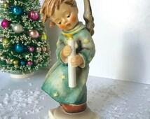 "Collectible Hummel figurine Heavenly Angel 7"" 21/1 Christmas porcelain figurine VGC  from MilkweedVintageHome"