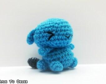 Crochet Wobbuffet CHIBI MINI  Inspired Chibi Pokemon