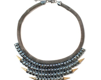 Punk Rock Statement Necklace
