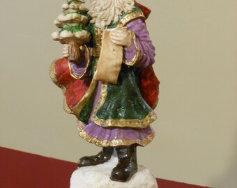 Sankyo Santa Music Box Figurine